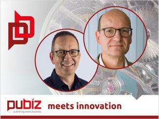 Jürgen Weder und Ehrhardt Heinold sprechen über Innovationen im Bildungsmarkt (Foto: pubiz).